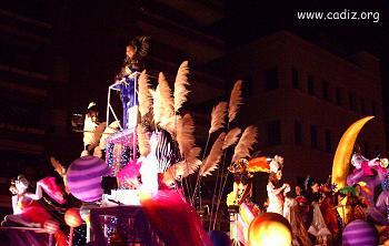 Cabalgata Magna en Carnaval de Cádiz