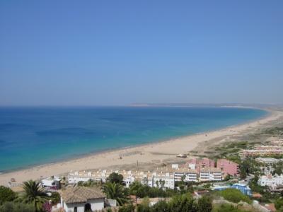 Inmensa playa de Zahara